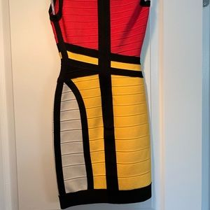 Herve Leger bandage dress in like new condition